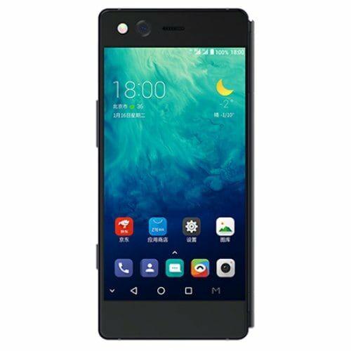 EU ECO Raktár - ZTE AXON M 4G okostelefon - 128GB - fekete