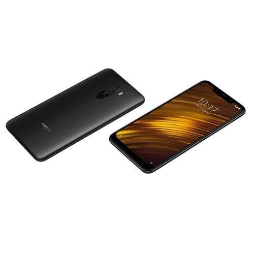 EU ECO Raktár - Xiaomi Pocophone F1 4G okostelefon Globális verzió 6GB RAM + 64 GB ROM - Grafit Fekete