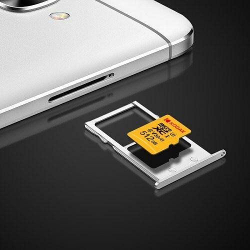EU ECO Raktár - Kodak Nagysebességű U3 A1 V30 Micro SD Memóriakártya -  512GB