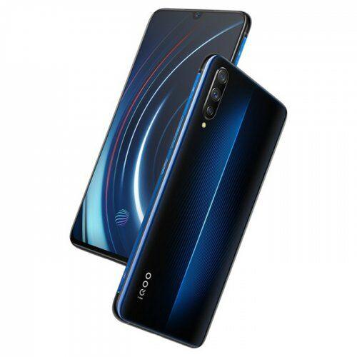 EU ECO Raktár - iQOO ( Vivo ) 4G 6.41 inch okostelefon Qualcomm Snapdragon 855 Octa Core 2.84GHz Adreno 640 8GB RAM 128GB ROM- Kék