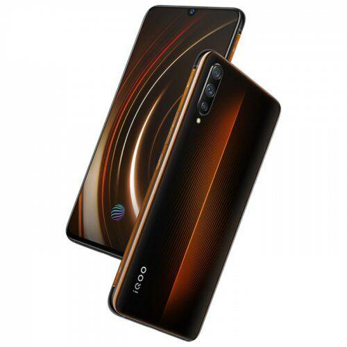 EU ECO Raktár - iQOO ( Vivo ) 4G 6.41 inch okostelefon Qualcomm Snapdragon 855 Octa Core 2.84GHz Adreno 640 8GB RAM 128GB ROM- Barna