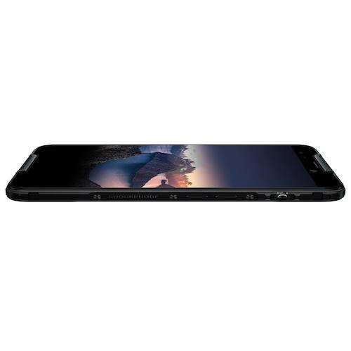 EU ECO Raktár - CUBOT Quest 5.5 inch 4G Sport Octa Core CPU / Gorilla Glass 5 / 4GB + 64GB / Android 9.0 / Fingerprint Sensor / Face ID / IP68 Vízálló - Fekete