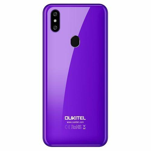 EU ECO Raktár - OUKITEL C15 Pro 4G okostelefon - Lila
