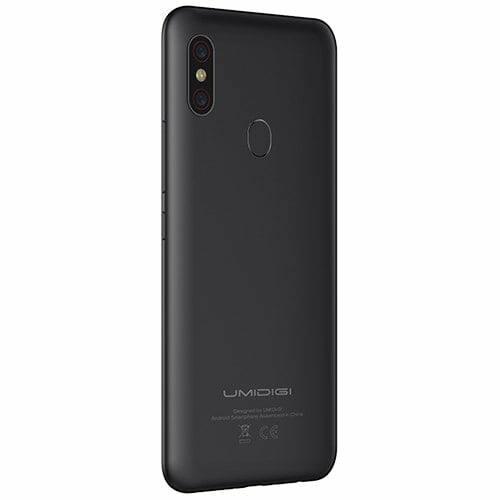 EU Eco Raktár - UMIDIGI F1 Play 4G okostelefon - Fekete