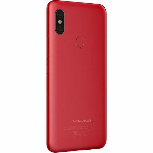 EU Eco Raktár - UMIDIGI F1 Play 4G okostelefon - Piros