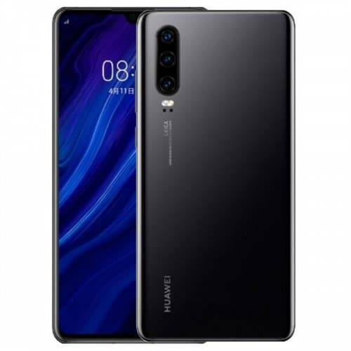 EU ECO Raktár - Huawei P30 4G okostelefon - 8GB 128GB - Fekete