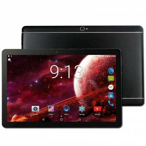 EU ECO Raktár - 10.1 inch Táblagép 4GB RAM 64GB ROM Android 8.1 - Fekete