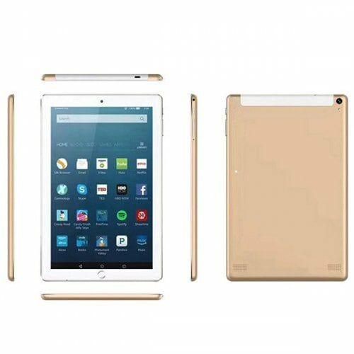 EU ECO Raktár - 10.1 inch 2G / 3G Táblagép 4GB RAM 64GB ROM Android 7.0 - Arany