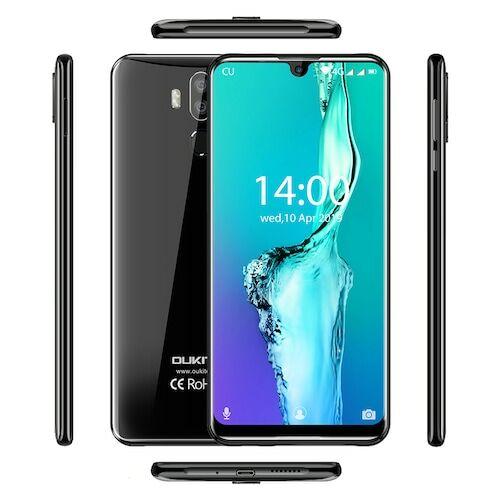 EU ECO Raktár - OUKITEL K9 4G Okostelefon 7.12 inch 4GB RAM 64GB ROM  - Fekete