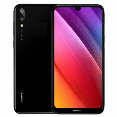 EU ECO Raktár - HUAWEI Y7 Pro 2019 4G okostelefon - 3GB 32GB - Fekete