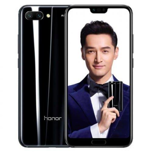 EU ECO Raktár - HUAWEI Honor 10 4G okostelefon - 4GB 128GB - Fekete