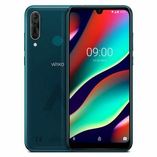 EU ECO Raktár - WIKO View3 Pro 4G okostelefon - Zöld