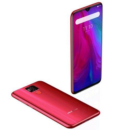 EU ECO Raktár - Ulefone Power 6 4G okostelefon - Piros