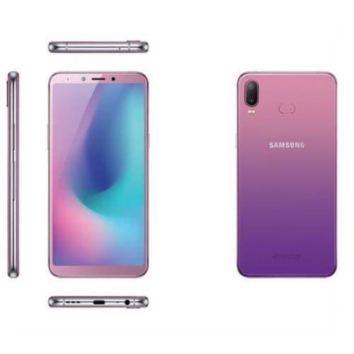 EU ECO Raktár - Samsung Galaxy A6s 4G okostelefon 6.0 inch - Lila