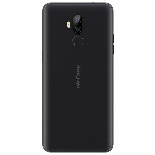 EU ECO Raktár - Ulefone P6000 Plus 4G okostelefon - Fekete