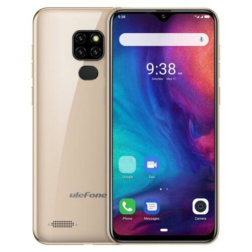 EU ECO Raktár - Ulefone Note 7P 4G Okostelefon 3GB RAM 32GB ROM - Arany