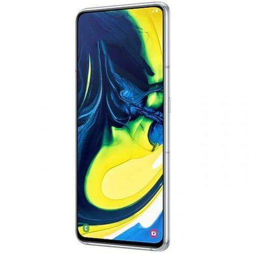 EU ECO Raktár - Samsung Galaxy A80 4G okostelefon - 8GB 128GB - Ezüst