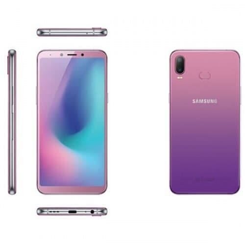 EU ECO Raktár - Samsung Galaxy A6s 4G okostelefon Nemzetközi verzió - Lila