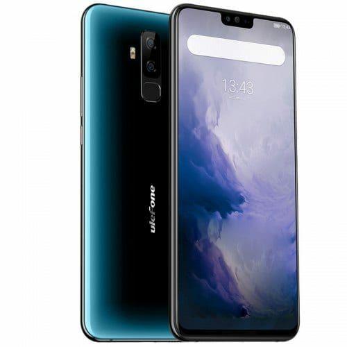 EU ECO Raktár - Ulefone T2 4G okostelefon - Kék
