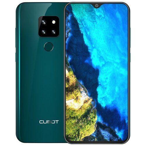 EU ECO Raktár - CUBOT P30 4G okostelefon 4GB RAM 64GB ROM - Zöld