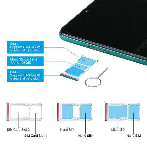 EU ECO Raktár - Xiaomi Redmi Note 8 Pro Okostelefon Globális verzió 6 GB RAM 128GB  ROM - Ezüst