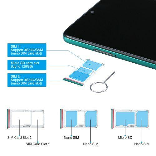 EU ECO Raktár - Xiaomi Redmi Note 8 Pro 4G Okostelefon Globális verzió 6GB RAM + 64GB ROM - Kék