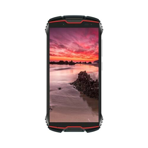 EU ECO Raktár - Cubot Kingkong Mini 2 4G DUAL SIM Android Okostelefon 4 inch QHD+ Screen Vízálló 4G LTE Dual-SIM Android 10 3GB RAM 32GB ROM 13.0MP Camera Mini Phone Face ID - Piros