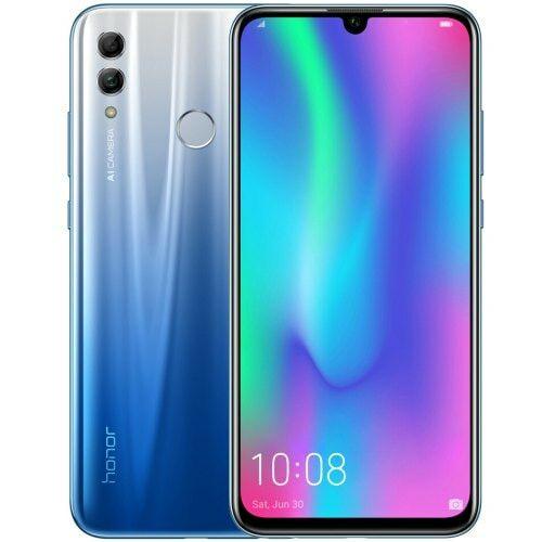 EU ECO Raktár - HUAWEI Honor 10 Lite 4G okostelefon 6.21 inch 3GB RAM 32GB ROM - Világos Kék