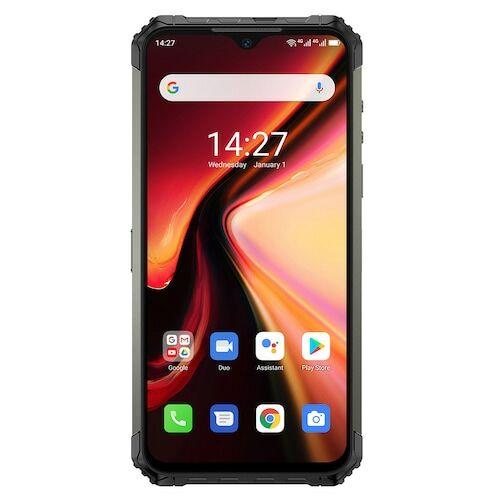 EU ECO Raktár - Ulefone Armor 7 4G Okostelefon 6.3 Inch Android 9.0 Helio P90 Octa Core 2.2GHz 8GB RAM 128GB ROM 3 előlapi Camera 5500mAh Battery IP68 / IP69K Vízálló - Fekete