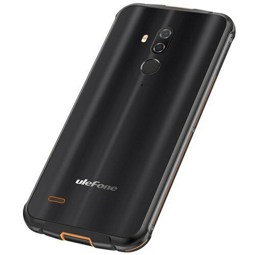 EU ECO Raktár - Ulefone Armor 5S 4G Okostelefon 5.85 inch Android 9.0 MT6763 Octa Core 4GB RAM 64GB ROM - Fekete
