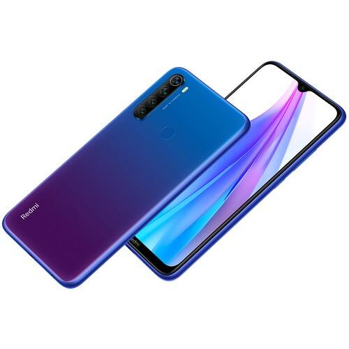 EU ECO Raktár - Xiaomi Redmi Note 8T 4G okostelefon 6.3 inch Snapdragon 665 Octa Core 4GB RAM 128GB ROM 4 előlapi Camera 4000mAh - Kék