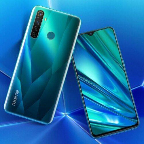 EU ECO Raktár - OPPO Realme 5 Pro 4G okostelefon 6.3 inch Android 9.0 Snapdragon 712 8GB RAM 128GB ROM - Zöld