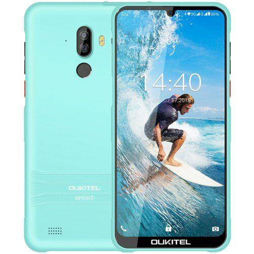 EU ECO Raktár - OUKITEL Y1000 3G Okostelefon 6.088 inch Android 9.0 MT6580P Quad Core 2GB RAM 32GB ROM - Kék