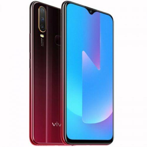 EU ECO Raktár - Vivo U3x 4G okostelefon 6.35 inch Android 9.0 Snapdragon 665 Octa Core 4GB RAM 64GB ROM - Piros