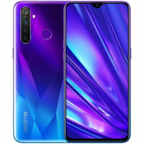 EU ECO Raktár - OPPO Realme 5 Pro 4G Okostelefon 6.3 inch FHD+ Android 9.0 Snapdragon 712 AIE Octa Core 4GB RAM 128GB ROM - Kék