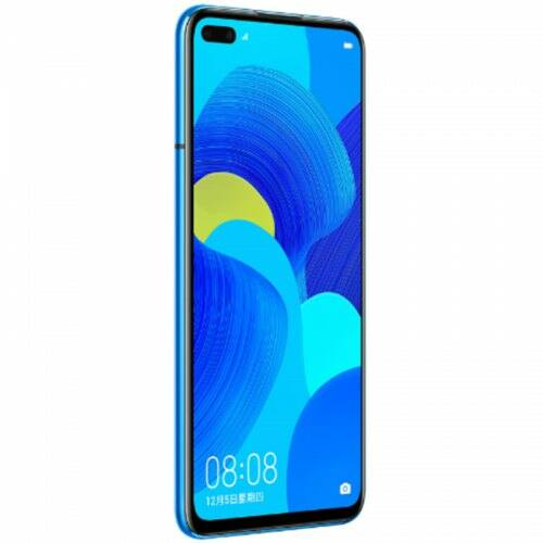 EU ECO Raktár - HUAWEI nova 6 5G 5G Okostelefon 6.57 inch Android 10 Kirin 990 Balong 5000 Octa Core 8GB RAM 256GB ROM - Kék