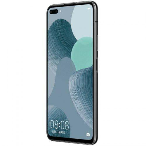 EU ECO Raktár - HUAWEI nova 6 5G 5G Okostelefon 6.57 inch Android 10 Kirin 990 Balong 5000 Octa Core 8GB RAM 128GB ROM - Fekete
