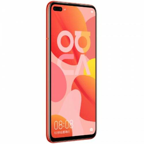 EU ECO Raktár - HUAWEI nova 6 5G 5G Okostelefon 6.57 inch Android 10 Kirin 990 Balong 5000 Octa Core 8GB RAM 128GB ROM - Piros