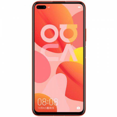 EU ECO Raktár - HUAWEI nova 6 5G 5G Okostelefon 6.57 inch Android 10 Kirin 990 Balong 5000 Octa Core 8GB RAM 256GB ROM - Piros