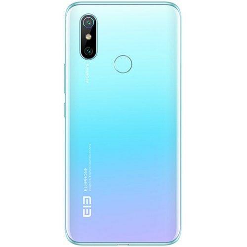 EU ECO Raktár - Elephone U3H 4G Okostelefon 6.53 inch Android 9.0 Helio P70 Octa Core 8GB RAM 256GB ROM 2 előlapi Camera 3500mAh Battery Globális verzió - Kristály Kék
