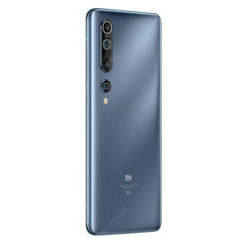 EU ECO Raktár - Xiaomi Mi 10 5G Okostelefon 8GB RAM 128GB ROM Globális verzió - Ezüst