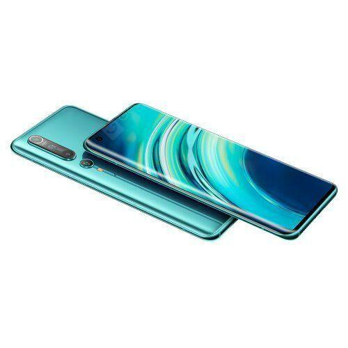 EU ECO Raktár - Xiaomi Mi 10 5G Okostelefon 8GB RAM 128GB ROM Globális verzió - Türkiz