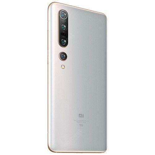 EU ECO Raktár - Xiaomi Mi 10 Pro 6.67 Inch 5G Okostelefon 120Hz Snapdragon 865 X55 Octa Core 108MP Kamera 8GB RAM 256GB ROM - Fehér
