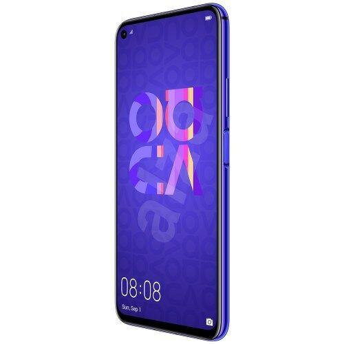 EU ECO Raktár - HUAWEI Nova 5T 4G Okostelefon 6.26 inches Android 9 Kirin 980 8GB RAM 128GB ROM 48MP  - Lila