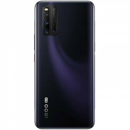 EU ECO Raktár - VIVO IQOO 3 Snapdragon 865 5G Okostelefon Eight-core 6GB RAM 128GB ROM 6.44 inch Camera 48MP + 13MP + 13MP + 2MP 4440mAh Battery Globális verzió - Fekete