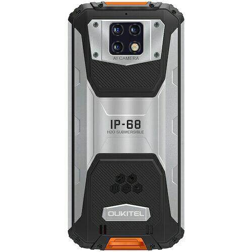 EU ECO Raktár - OUKITEL WP6 4G Okostelefon 10000mAh Battery 6.3 Inch48MP+ 5MP+0.3MP 6GB RAM 128GB ROM IP68 Vízálló - Narancs