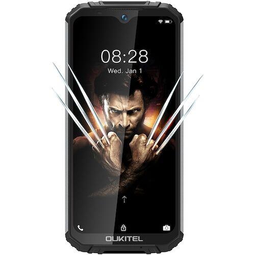 EU ECO Raktár - OUKITEL WP6 4G Okostelefon 10000mAh Battery 6.3 Inch48MP+ 5MP+0.3MP 6GB RAM 128GB ROM IP68 Vízálló - Fekete