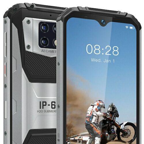 OUKITEL WP6 4G Okostelefon 4GB RAM 128GB ROM 10000mAh Battery 6.3 inch 16MP + 5MP + 0.3MP előlapi Camera 8MP Front Camera - Fekete - Standard kiadás