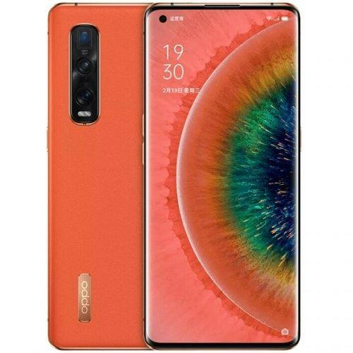 EU ECO Raktár - OPPO Find X2 Pro 5G 6.7 inch Okostelefon Snapdragon 865 8-core 12GB RAM 256GB ROM - Narancssárga