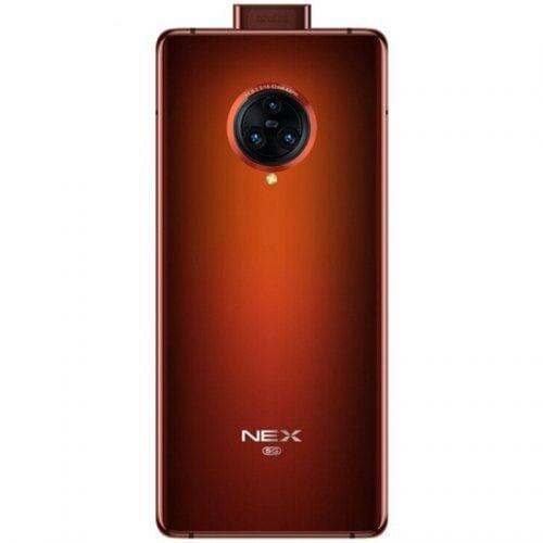 EU ECO Raktár - VIVO NEX 3S 5G Okostelefon with 6.89 inch 12GB RAM 256GB ROM Snapdragon 865 Octa Core - Narancssárga